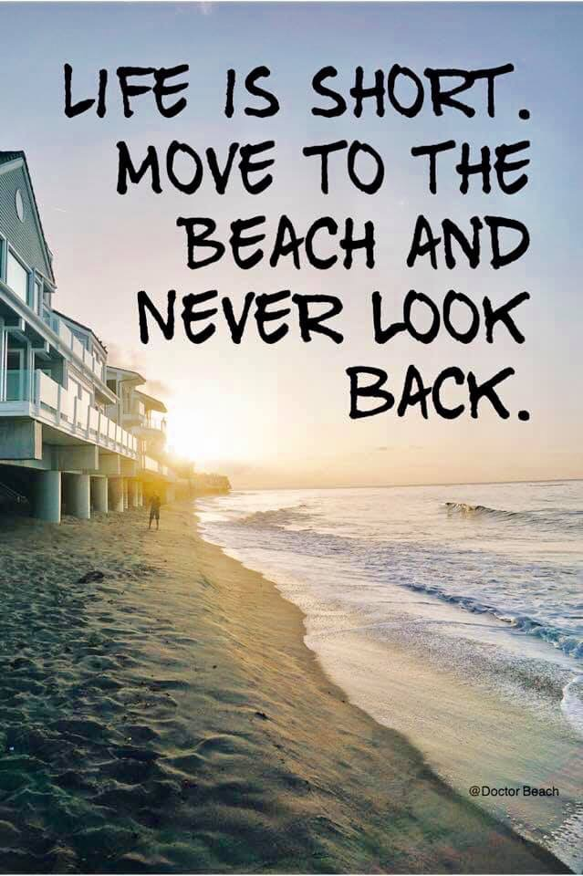 Move to the beach and never look back