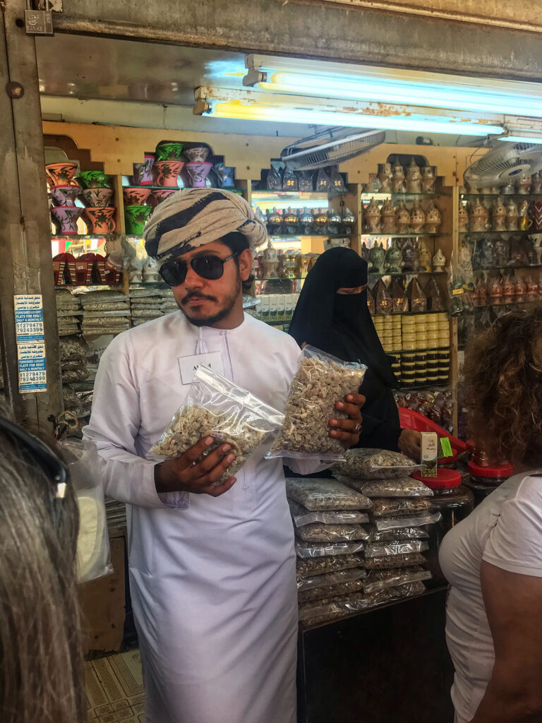 Selling Frankincense